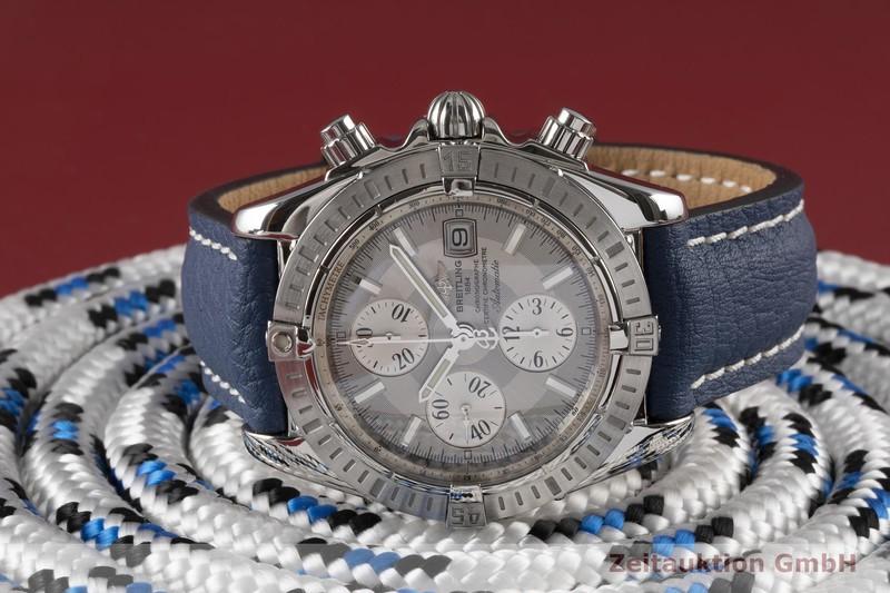 gebrauchte Luxusuhr Breitling Chronomat Chronograph Stahl Automatik Kal. B13 Ref. A13356  | 2004987 _0