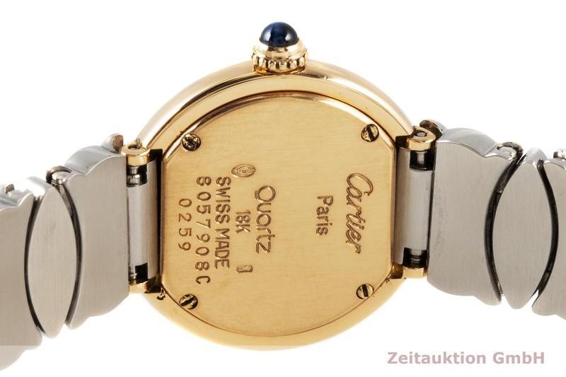 gebrauchte Luxusuhr Cartier Baignoire 18k Gold Quarz Kal. 157 Ref. 8057908C     2005008 _1