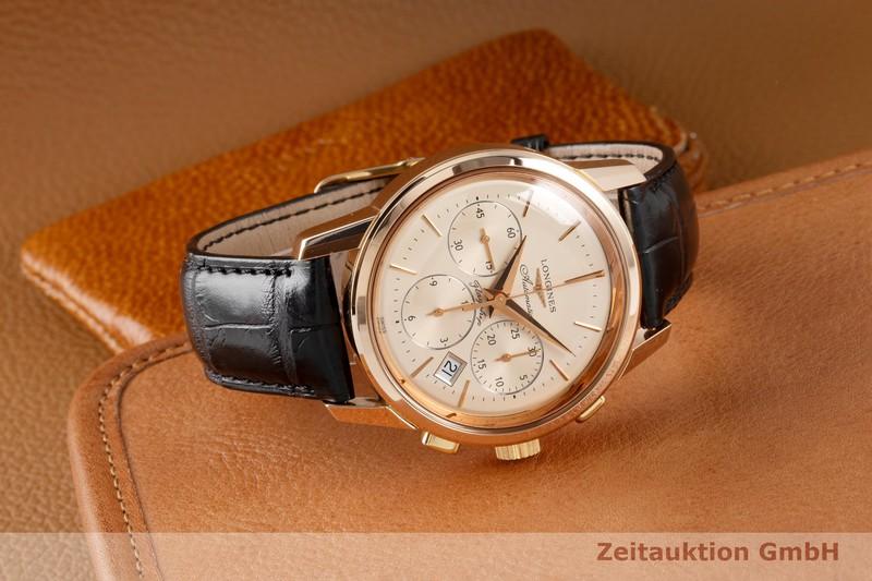 gebrauchte Luxusuhr Longines Flagship Chronograph 18k Rotgold Automatik Kal. L683.2 Ref. L4.796.8  | 2005027 _0