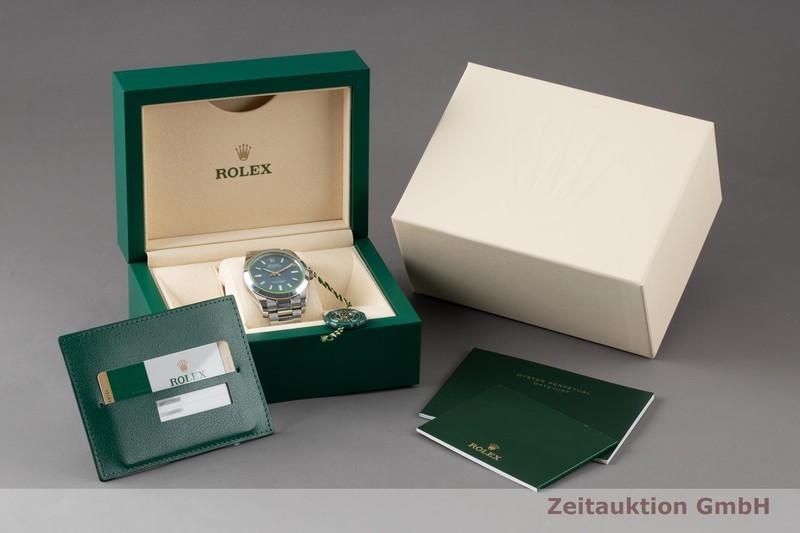 gebrauchte Luxusuhr Rolex Milgauss Stahl Automatik Kal. 3131 Ref. 116400GV  | 2005036 _0