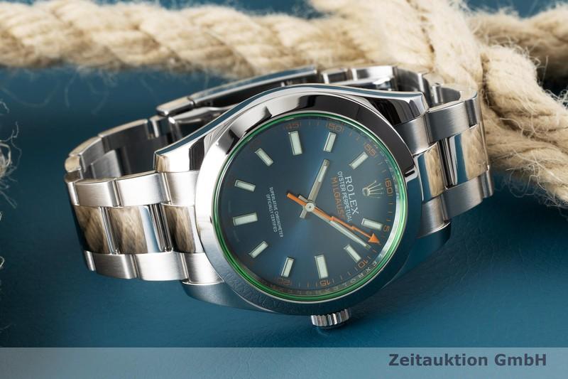 gebrauchte Luxusuhr Rolex Milgauss Stahl Automatik Kal. 3131 Ref. 116400GV  | 2005036 _1