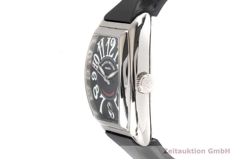 gebrauchte Luxusuhr Franck Muller Conquistador 18k Weissgold Automatik Kal. 2800 Ref. 8002SC  | 2005045 _0