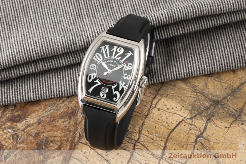 gebrauchte Luxusuhr Franck Muller Conquistador 18k Weissgold Automatik Kal. 2800 Ref. 8002SC  | 2005045 _1
