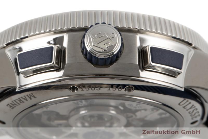 gebrauchte Luxusuhr Ulysse Nardin Marine Chronograph Chronograph Titan Automatik Kal. UN150 Ref. 1503-150  | 2005058 _1