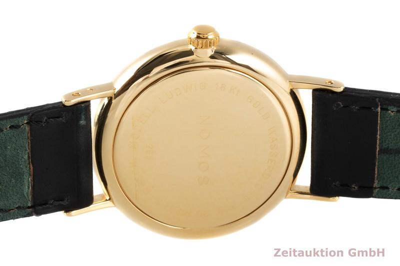 gebrauchte Luxusuhr Nomos Ludwig 18k Gold Handaufzug Kal. ETA 7001 Ref. 211  | 2005083 _1