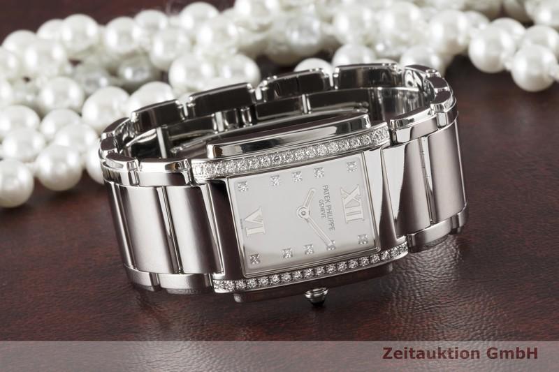 gebrauchte Luxusuhr Patek Philippe Twenty 4  Stahl Quarz Kal. E15 Ref. 4910/010    2005099 _0
