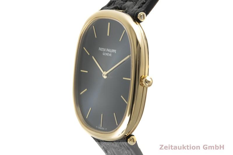 gebrauchte Luxusuhr Patek Philippe Ellipse 18k Gold Automatik Kal. 240 Ref. 3738  | 2005116 _0