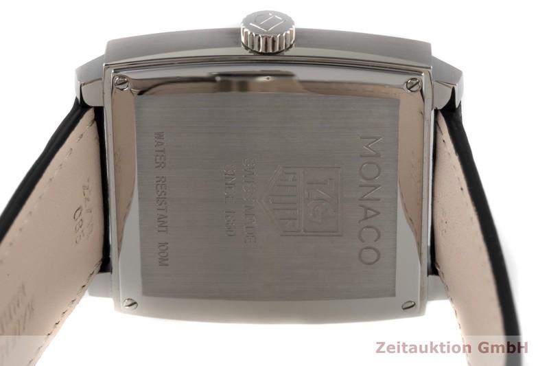 gebrauchte Luxusuhr Tag Heuer Monaco Stahl Quarz Kal. Ronda Ref. WAW1310  | 2005121 _1
