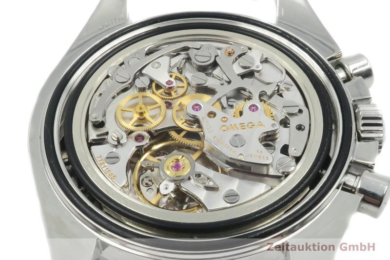 gebrauchte Luxusuhr Omega Speedmaster Moonwatch Chronograph Stahl Handaufzug Kal. 1866 Ref. 3876.50.31, 145.0057    2005143 _1