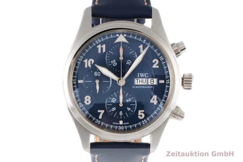 gebrauchte Luxusuhr IWC Fliegerchronograph Chronograph Stahl Automatik Kal. C.79320 Ref. 3717 LIMITED EDITION | 2005168 _0