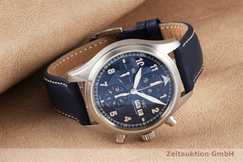 gebrauchte Luxusuhr IWC Fliegerchronograph Chronograph Stahl Automatik Kal. C.79320 Ref. 3717 LIMITED EDITION | 2005168 _1