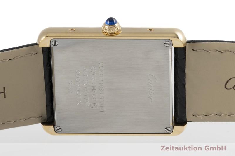 gebrauchte Luxusuhr Cartier Tank 18k Gold Quarz Kal. 690 Ref. 3167    2005180 _1