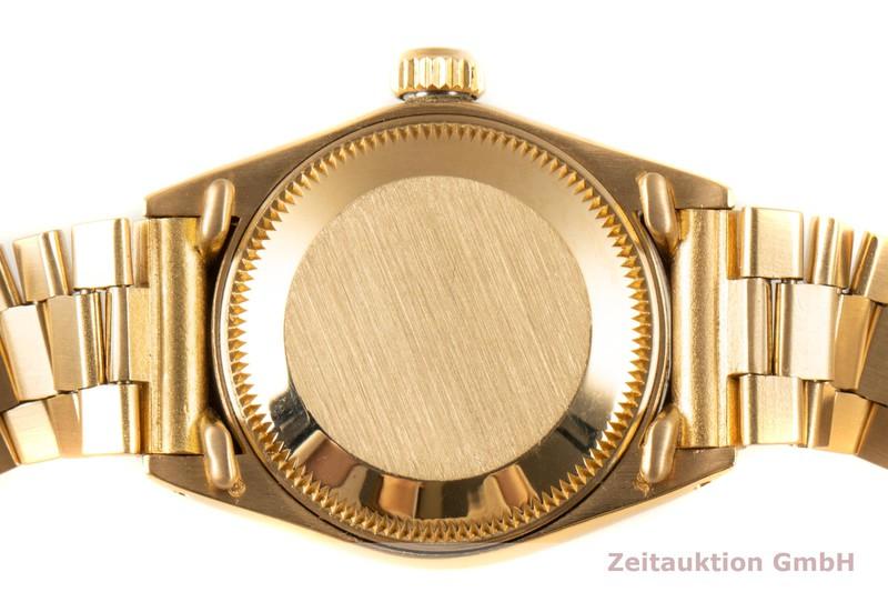 gebrauchte Luxusuhr Rolex Lady Datejust 18k Gold Automatik Kal. 2030 Ref. 6917 VINTAGE    2005214 _1