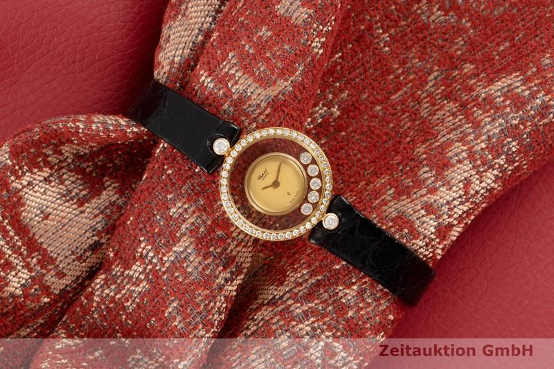 gebrauchte Luxusuhr Chopard Happy Diamonds 18k Gold Quarz Ref. 4065  | 2005296 _0