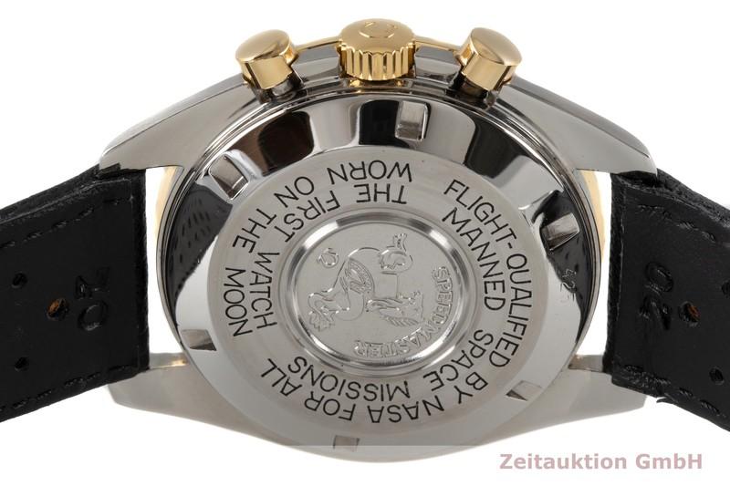 gebrauchte Luxusuhr Omega Speedmaster Moonwatch Chronograph Stahl / Gold Handaufzug Kal. 861 Ref. ST145.022 LIMITED EDITION   2005310 _1