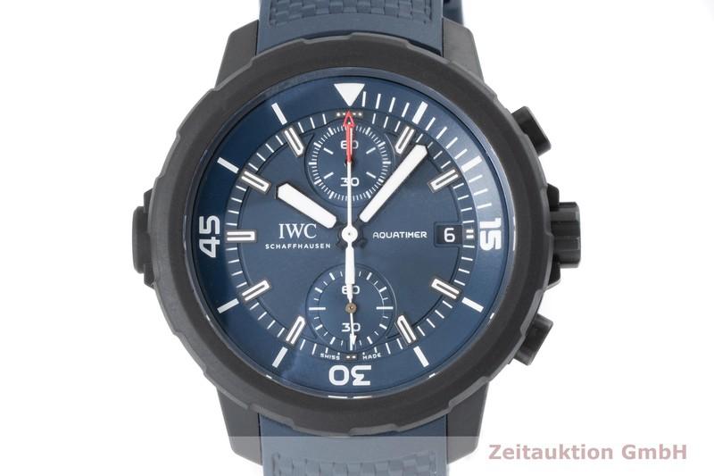 gebrauchte Luxusuhr IWC Aquatimer Chronograph Stahl / Kautschuk Automatik Kal. C.89365 Ref. 3795  | 2005312 _0