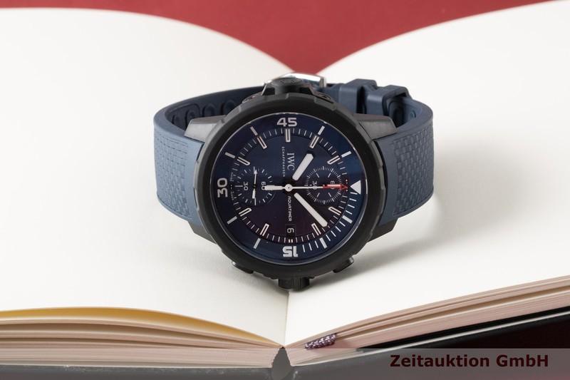gebrauchte Luxusuhr IWC Aquatimer Chronograph Stahl / Kautschuk Automatik Kal. C.89365 Ref. 3795  | 2005312 _1