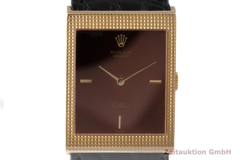 gebrauchte Luxusuhr Rolex Cellini 18k Gold Handaufzug Kal. 1601 Ref. 4127  | 2005369 _0