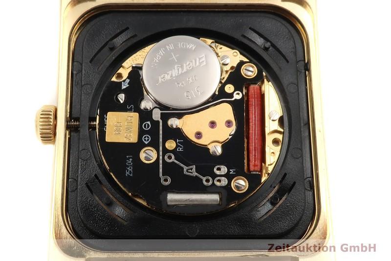 gebrauchte Luxusuhr Zenith Vintage 18k Gold Quarz Kal. 605 Ref. 90.0550.605  | 2005397 _1