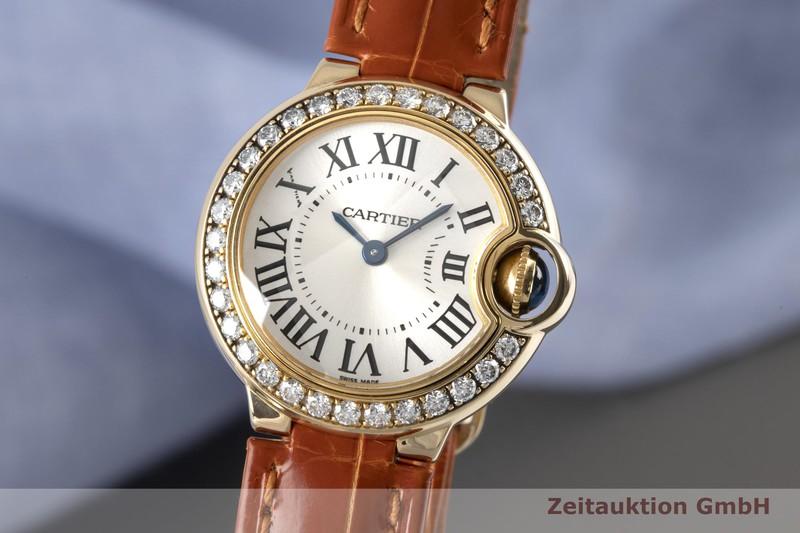 gebrauchte Luxusuhr Cartier Ballon Bleu de Cartier 18k Gold Quarz Kal. 057 Ref. 3006  | 2005400 _0