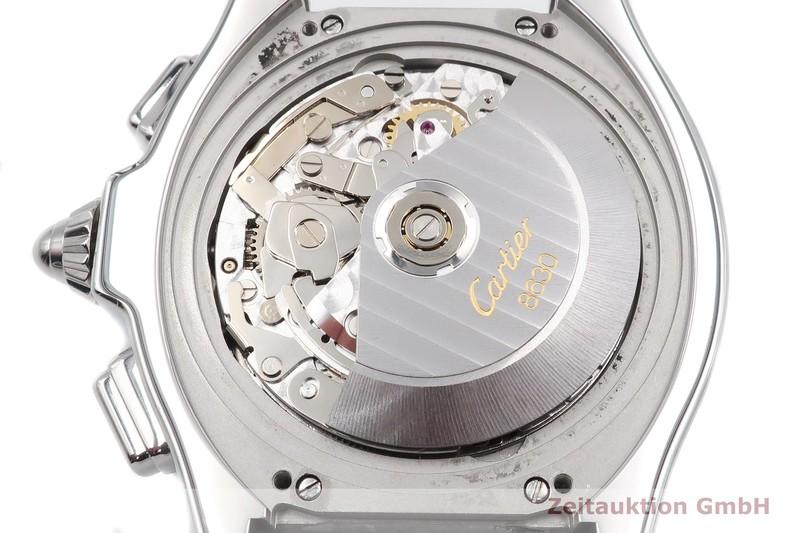 gebrauchte Luxusuhr Cartier Roadster Chronograph Stahl Automatik Kal. 8630 Ref. 3405  | 2005409 _1