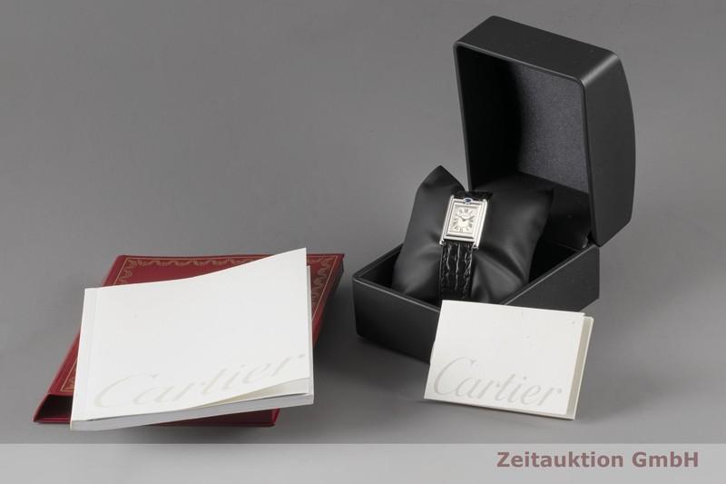 gebrauchte Luxusuhr Cartier Tank Stahl Quarz Kal. 059 Ref. 2386    2005417 _0