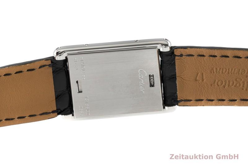 gebrauchte Luxusuhr Cartier Tank Stahl Quarz Kal. 059 Ref. 2386    2005417 _1