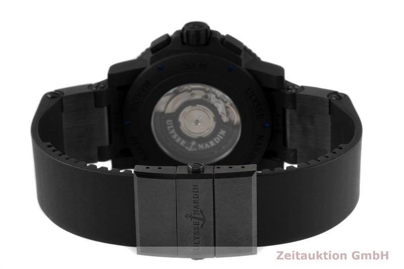 gebrauchte Luxusuhr Ulysse Nardin Diver Chronograph Stahl / Kautschuk Automatik Kal. UN035 Ref. 353-92-3C  | 2005443 _1