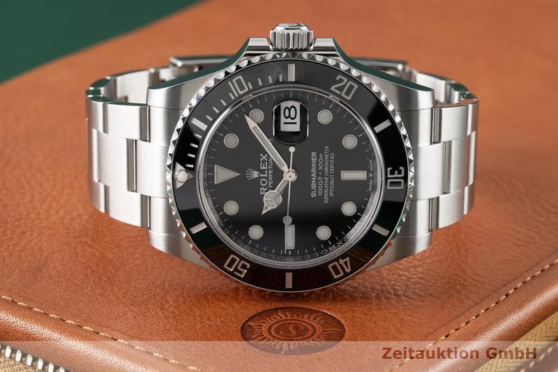 gebrauchte Luxusuhr Rolex Submariner Stahl Automatik Kal. 3235 Ref. 126610LN  | 2005463 _1