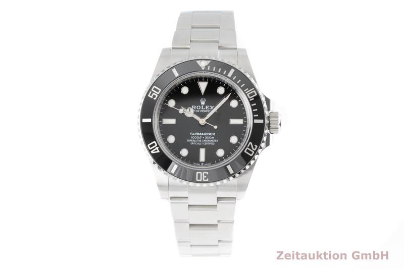 gebrauchte Luxusuhr Rolex Submariner Stahl Automatik Kal. 3230 Ref. 124060    2005464 _0