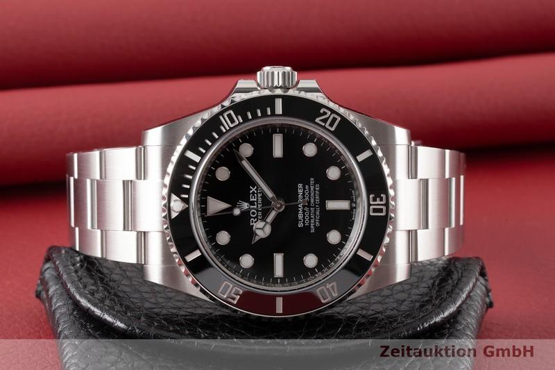 gebrauchte Luxusuhr Rolex Submariner Stahl Automatik Kal. 3230 Ref. 124060    2005464 _1