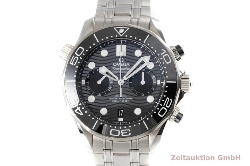 gebrauchte Luxusuhr Omega Seamaster Chronograph Stahl Automatik Kal. 9900 Ref. 210.30.44.51.01.001, STZ010974  | 2005468 _0