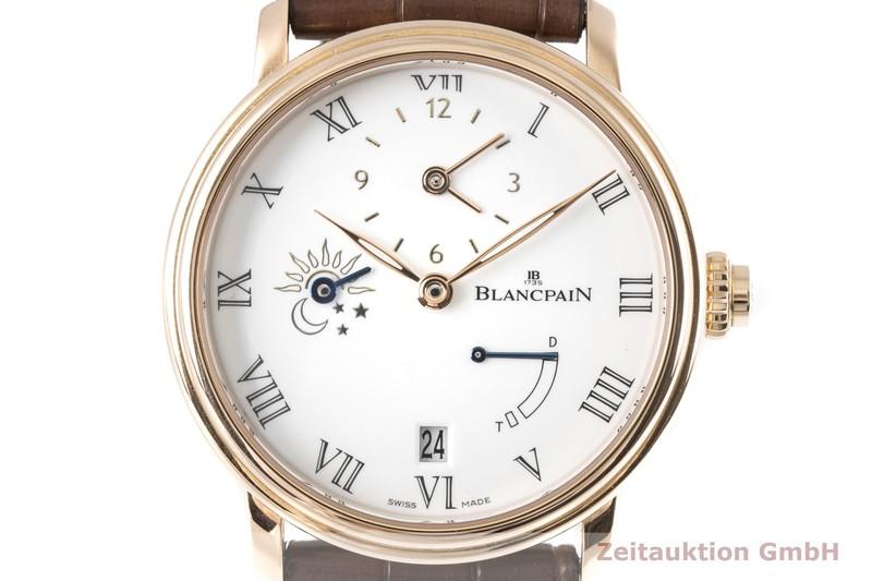 gebrauchte Luxusuhr Blancpain Villeret 18k Rotgold Automatik Kal. 5235DF Ref. 6661    2005477 _0