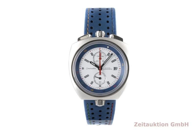 gebrauchte Luxusuhr Omega Seamaster Chronograph Stahl Automatik Kal. 3113 Ref. 522.12.43.50.04.001 LIMITED EDITION | 2005511 _0