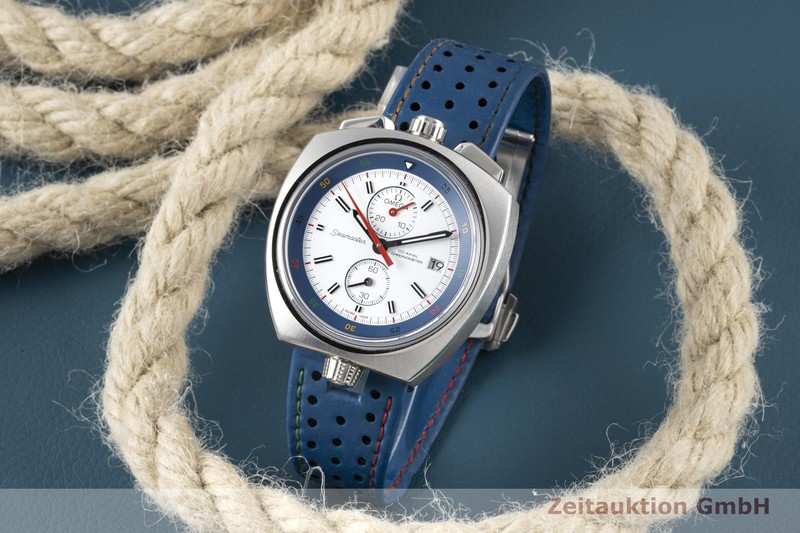 gebrauchte Luxusuhr Omega Seamaster Chronograph Stahl Automatik Kal. 3113 Ref. 522.12.43.50.04.001 LIMITED EDITION | 2005511 _1