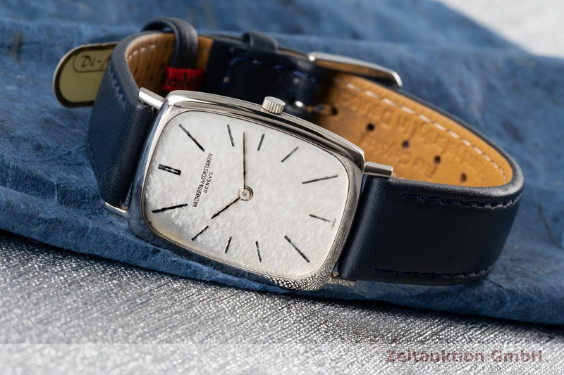 gebrauchte Luxusuhr Vacheron & Constantin Classique 18k Weissgold Handaufzug Kal. 1003 Ref. 7590    2005531 _0