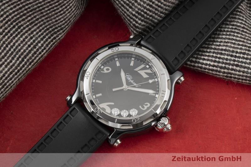 gebrauchte Luxusuhr Chopard Happy Sport Stahl Quarz Ref. 28/8507 LIMITED EDITION | 2005534 _0