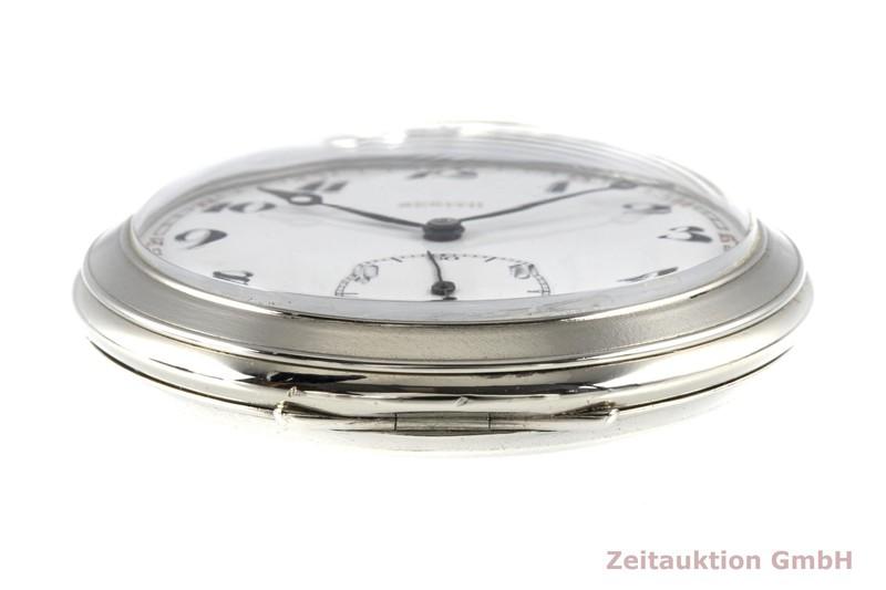 gebrauchte Luxusuhr Zenith Taschenuhr versilbert Handaufzug VINTAGE  | 2005557 _0