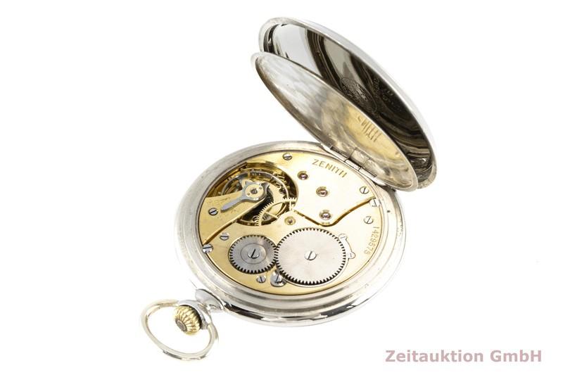 gebrauchte Luxusuhr Zenith Taschenuhr versilbert Handaufzug VINTAGE  | 2005557 _1