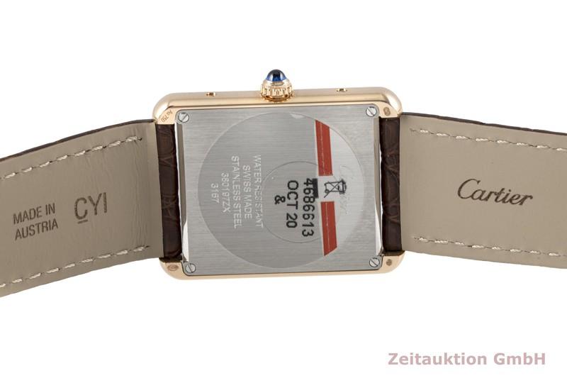 gebrauchte Luxusuhr Cartier Tank 18k Rotgold Quarz Ref. 3167  | 2005583 _1