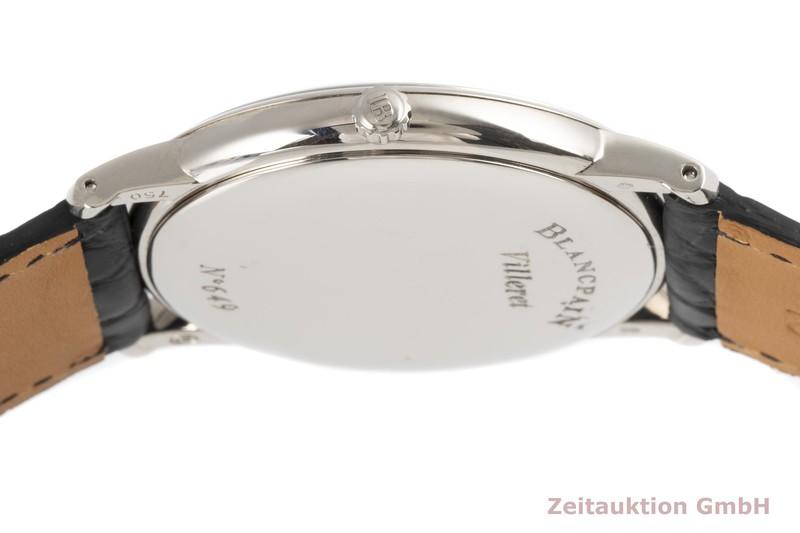 gebrauchte Luxusuhr Blancpain Villeret 18k Weissgold Automatik Kal. 1153 Ref. 4053-1542-55  | 2005621 _0