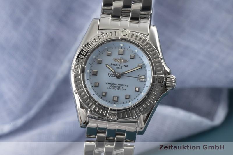 gebrauchte Luxusuhr Breitling Callistino Stahl Quarz Kal. A72 Ref. A72345  | 2005632 _0