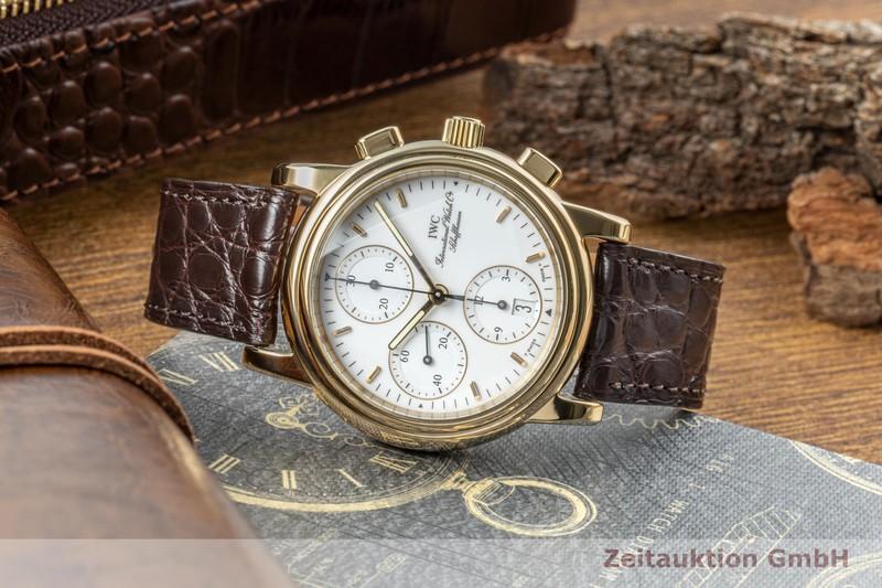 gebrauchte Luxusuhr IWC Amalfi Chronograph 18k Gold Automatik Kal. 7901 Ref. 3703  | 2005648 _0