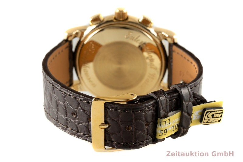 gebrauchte Luxusuhr IWC Amalfi Chronograph 18k Gold Automatik Kal. 7901 Ref. 3703  | 2005648 _1
