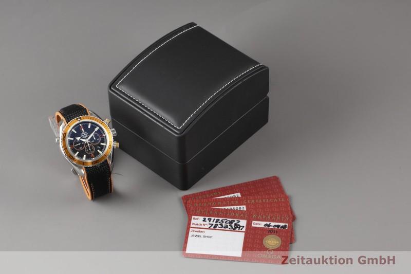 gebrauchte Luxusuhr Omega Seamaster Chronograph Stahl Automatik Kal. 3313 Ref. 2918.50.82, 178.1651  | 2005665 _0