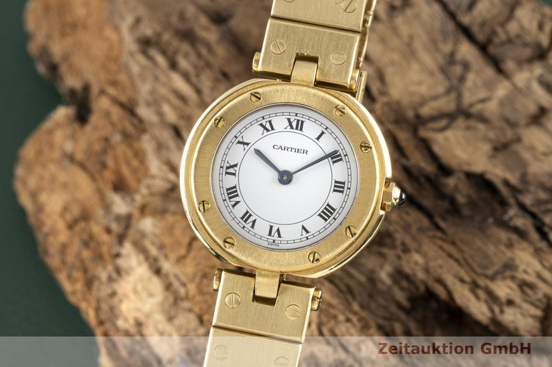 gebrauchte Luxusuhr Cartier Panthere 18k Gold Quarz Kal. 81 Ref. 8057921   | 2005666 _0