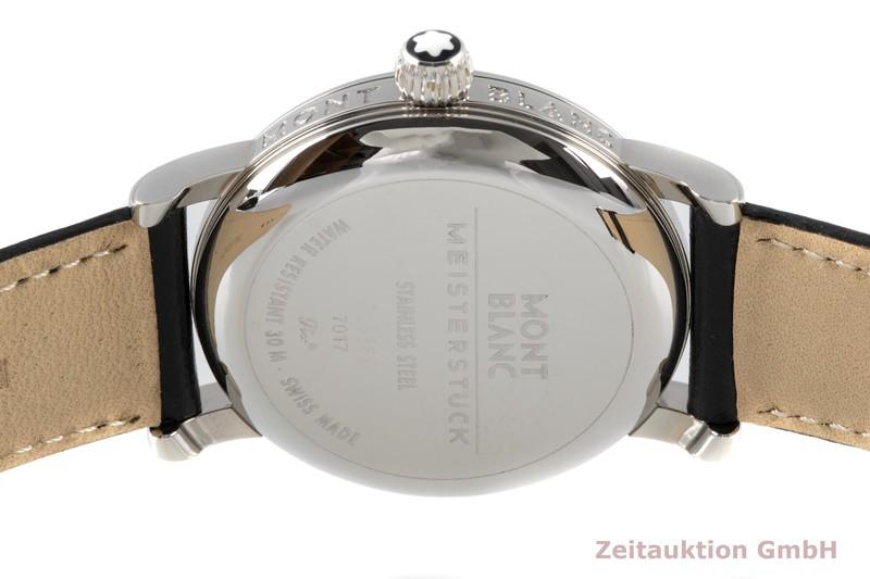 gebrauchte Luxusuhr Montblanc Meisterstück Stahl Handaufzug Kal. 4810.901 Ref. 7017  | 2005691 _1