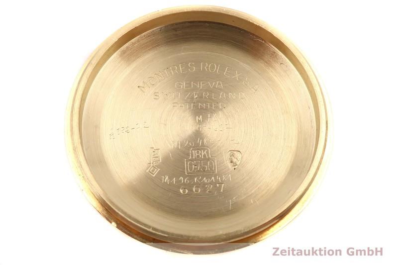 gebrauchte Luxusuhr Rolex Datejust 18k Gold Automatik Kal. 1161 Ref. 6632  | 2005700 _1