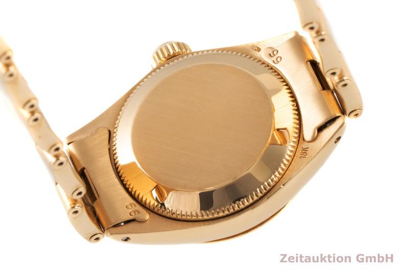 gebrauchte Luxusuhr Rolex Lady Datejust 18k Gold Automatik Kal. 1161 Ref. 6516 VINTAGE  | 2005701 _1