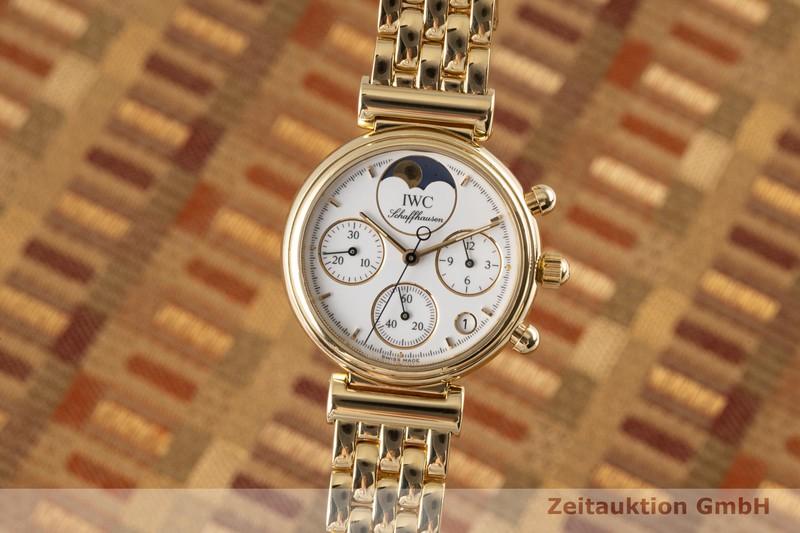 gebrauchte Luxusuhr IWC Da Vinci Chronograph 18k Gold Quarz Kal. 630 Ref. 3735    2005703 _0